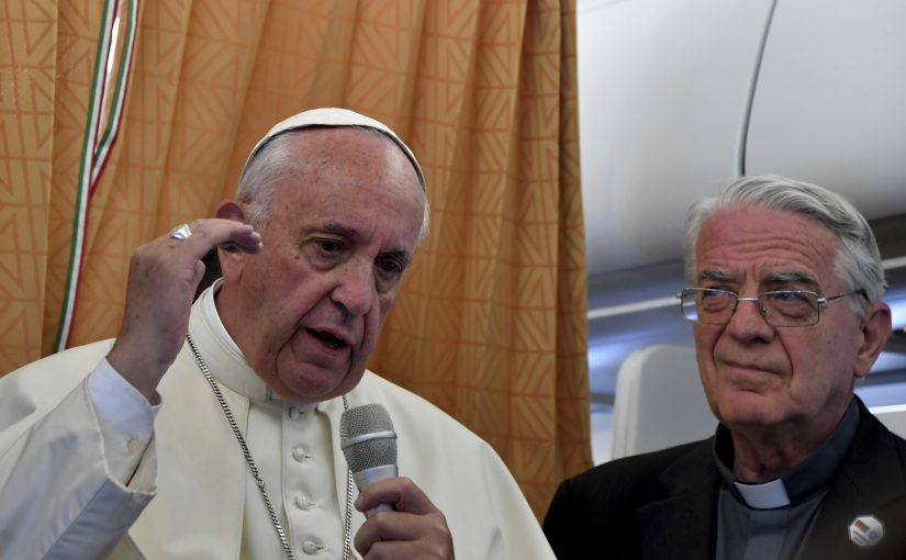 Pope Francis says Catholic Church Should Apologize to Gays